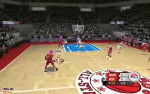 NBA Live 2005 - title cover