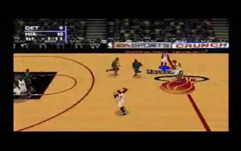 NBA Live 98 - title cover
