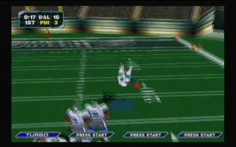 NFL Blitz 2000 - game cover