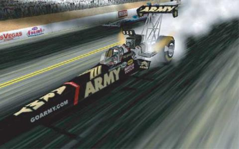 NHRA Drag Racing Main Event - game cover
