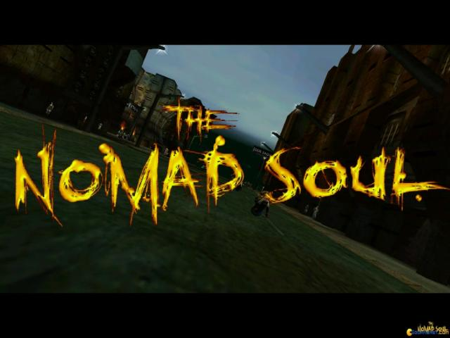 Omikron: The Nomad Soul - game cover