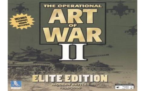 The Operational Art of War II: Elite Edition - game cover
