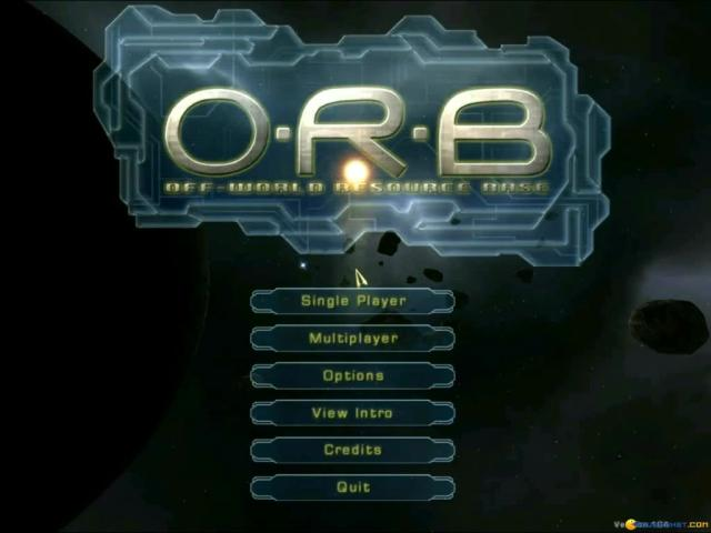 O.R.B.: Off-World Resource Base - title cover