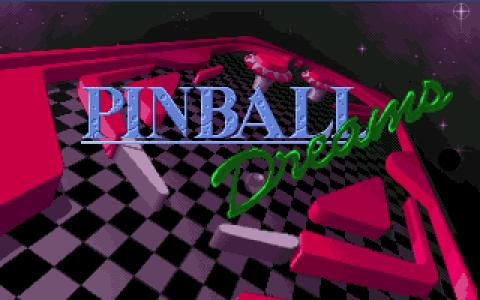 Pinball Dreams - title cover