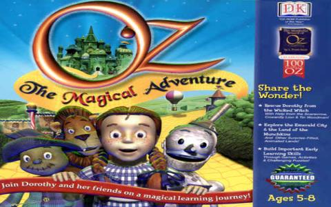 Oz: The Magical Adventure - title cover
