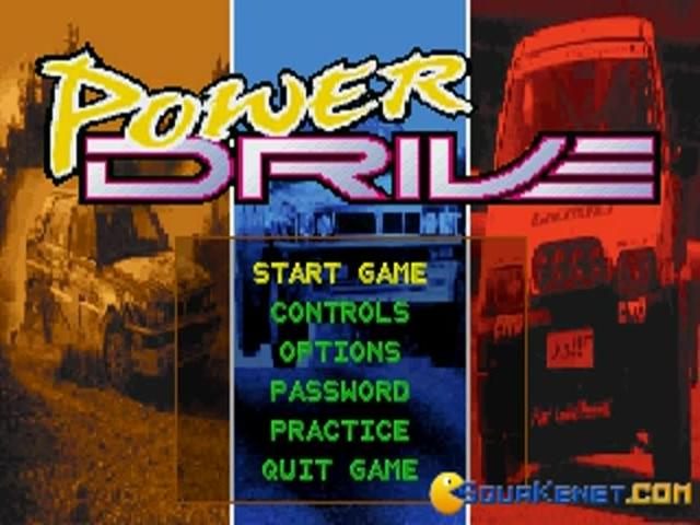 Power Drive - game cover