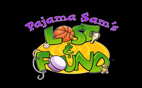 Pajama Sam: Lost and Found - title cover