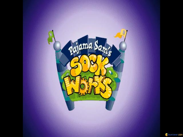 Pajama Sam's SockWorks - title cover
