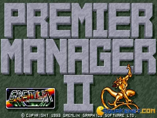 Premier Manager 2 - title cover
