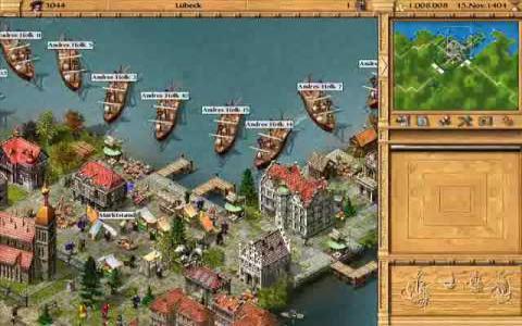 Patrizier II: Aufschwung der Hanse - game cover