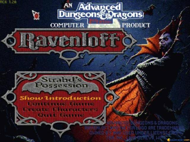 Ravenloft - game cover