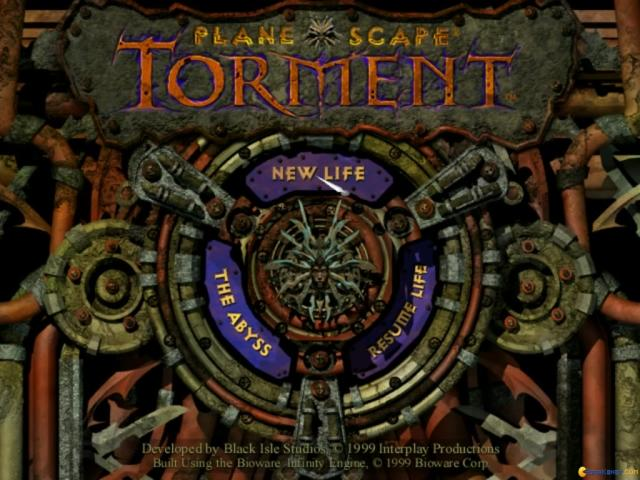 Planescape: Torment - game cover