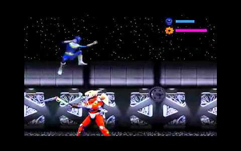 Power Rangers Zeo Versus The Machine Empire - game cover