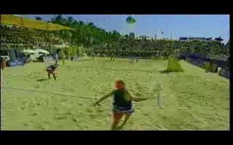 Power Spike Pro Beach Volleyball - game cover