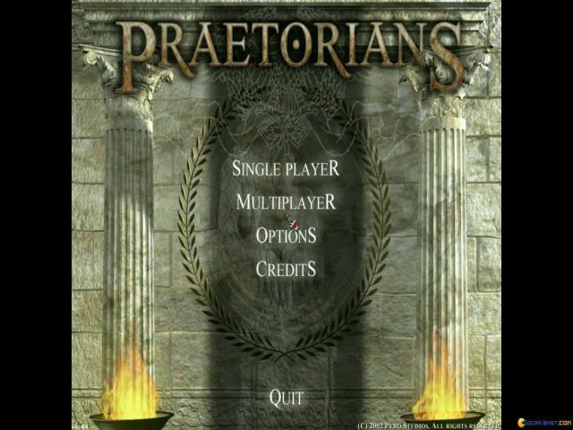 Praetorians - title cover