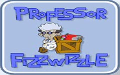 Professor Fizzwizzle - game cover