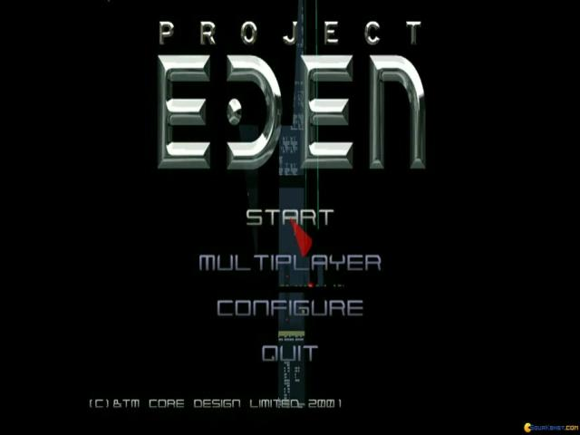 Project Eden - title cover