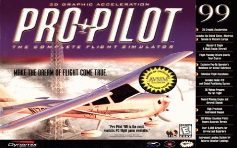 Pro Pilot '99 - game cover