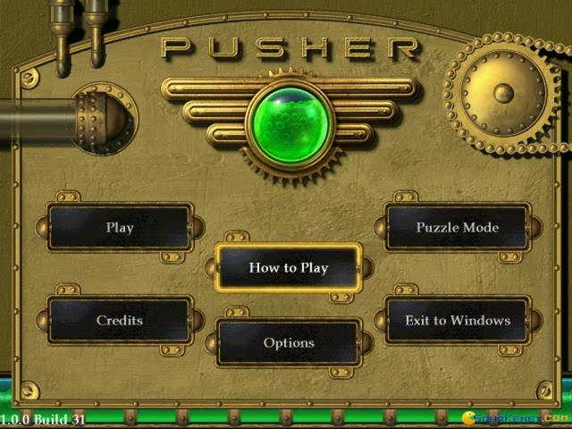 Pusher - game cover