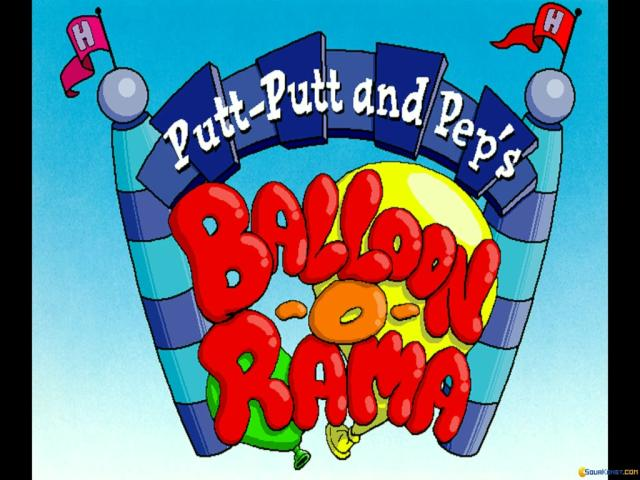 Putt-Putt and Pep's Balloon-o-Rama - title cover