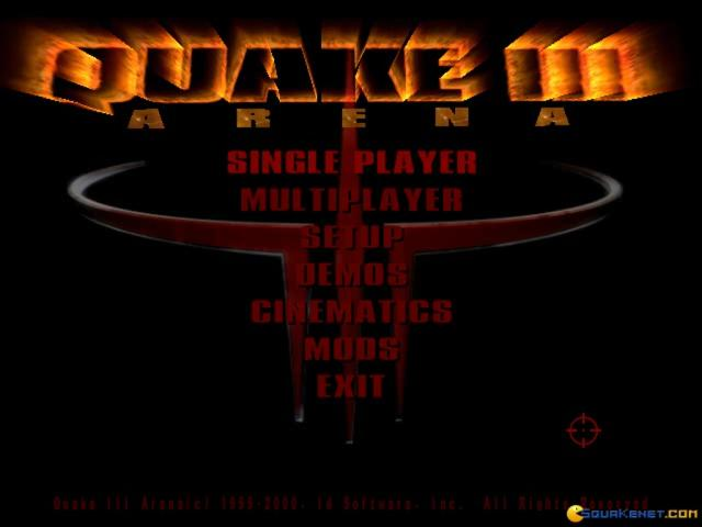 Quake 3: Arena - game cover