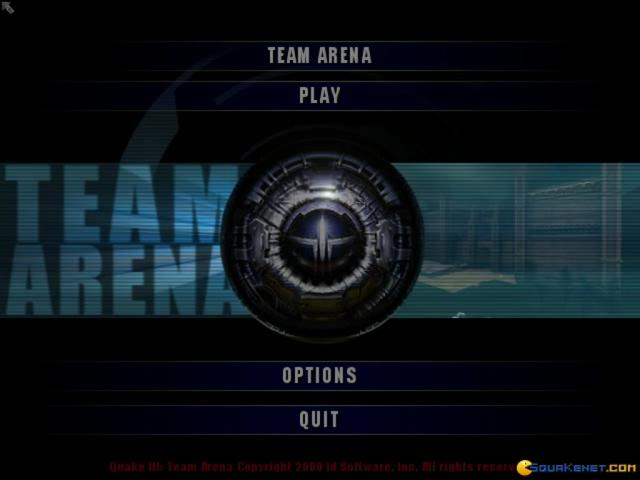 Quake 3: Team Arena - title cover