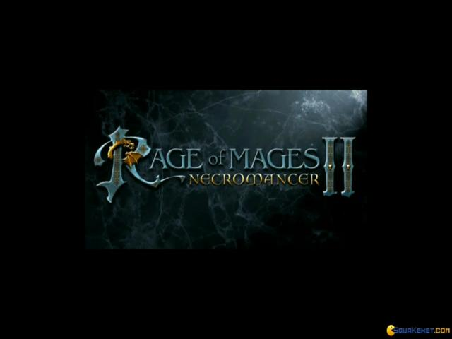 Rage of Mages II: Necromancer - title cover