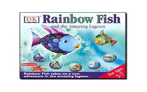Rainbow Fish and the Amazing Lagoon - game cover