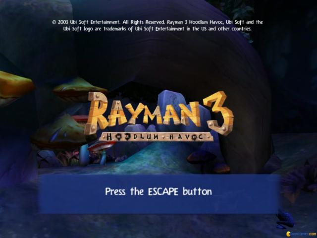 Rayman 3: Hoodlum Havoc - title cover