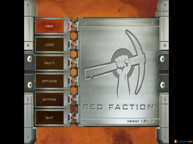 Red Faction - game cover