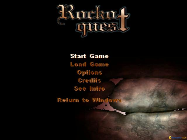 Rocko's Quest - title cover