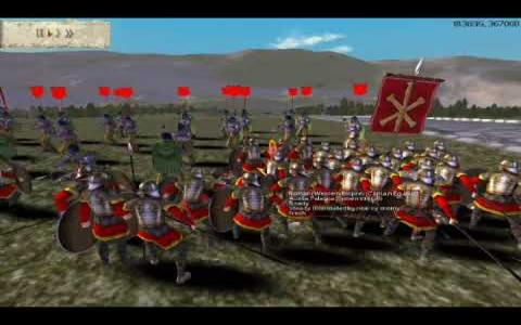 Rome: Total War - Barbarian Invasion - game cover