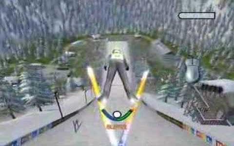 Ski jumping 2006 - game cover