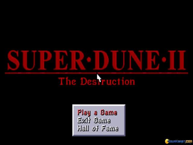 Super Dune 2 - title cover