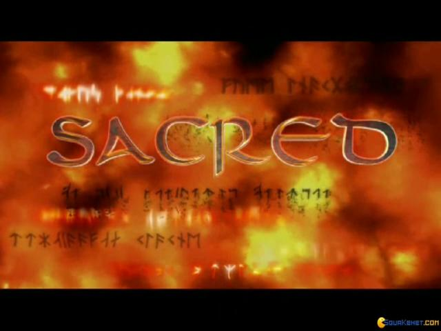 Sacred Gold - game cover