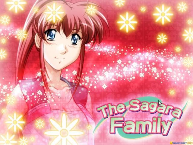 The Sagara Family - title cover