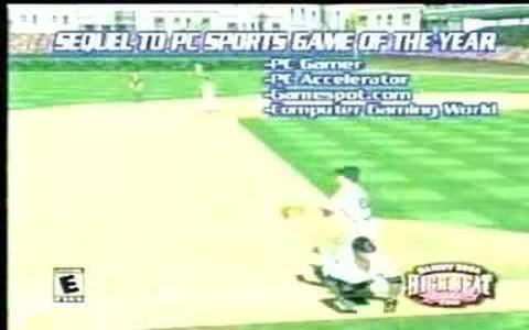 Sammy Sosa High Heat Baseball 2001 - game cover