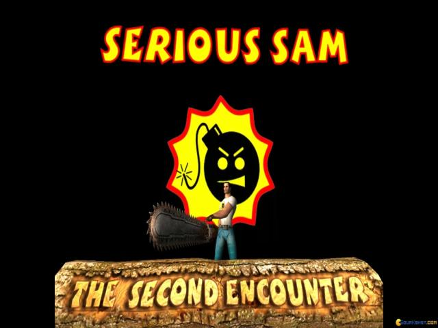 Serious Sam: The Second Encounter - title cover
