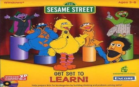 Sesame Street: Get Set To Learn - title cover
