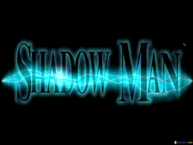 Shadow Man - title cover