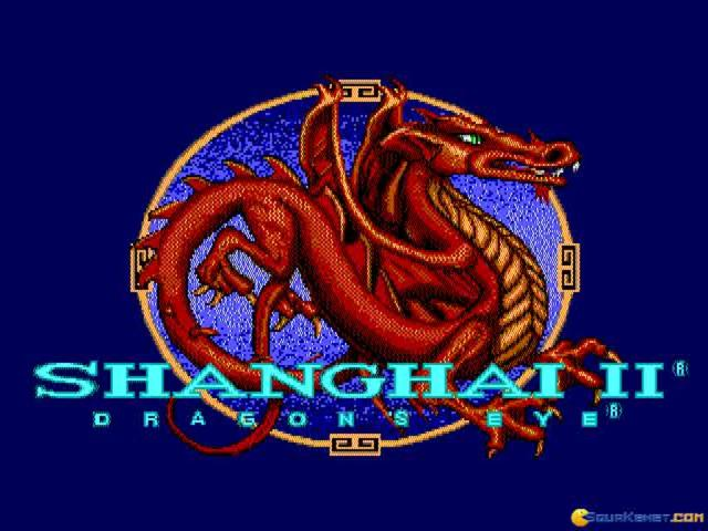 Shanghai II: Dragon's Eye - game cover