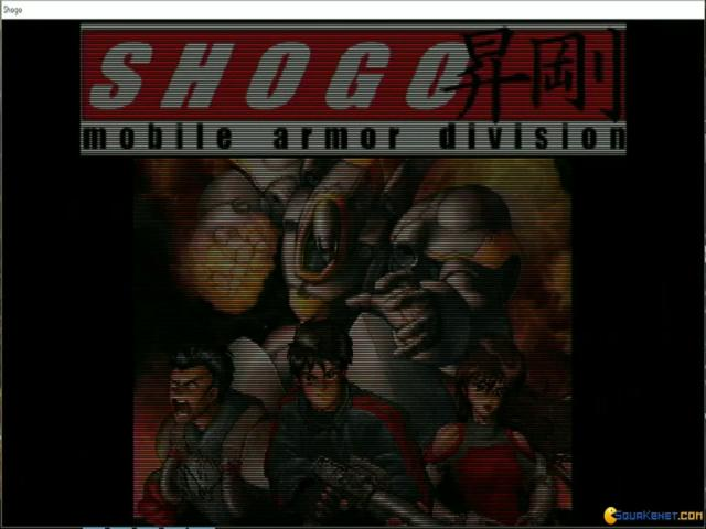 Shogo: Mobile Armor Division - title cover