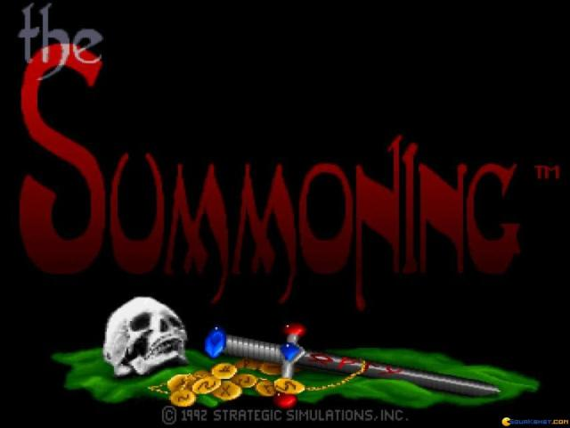 The Summoning - title cover
