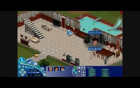 The Sims: Livin' Large - game cover