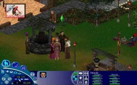 The Sims: Makin' Magic - game cover