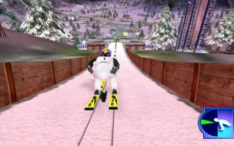 Ski Jumping 2004 - game cover