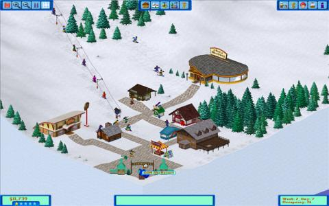 Ski Resort Tycoon - title cover