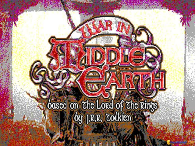 War In Middle Earth - title cover