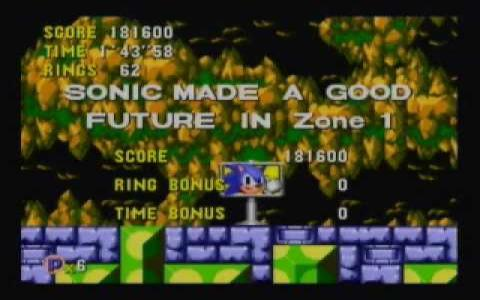 Sonic CD - title cover