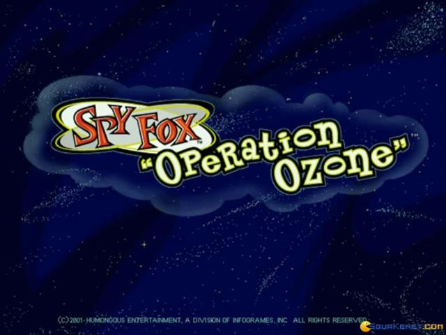 Spy Fox: Operation Ozone - title cover